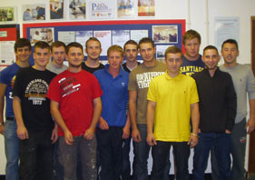 Students that completed NVQ level 3 in March 2007