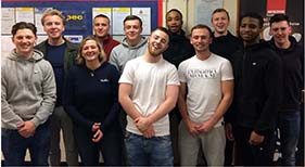 Students Complete NVQ Level 3 in May 2019