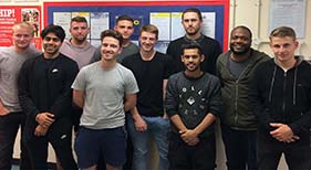 Students Complete NVQ Level 3 in November 2018