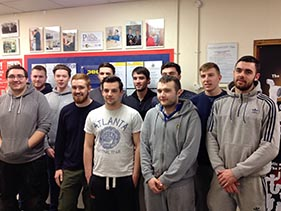 Students that completed NVQ level 3 in June 2016