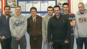 Students that completed NVQ level 3 in February 2011