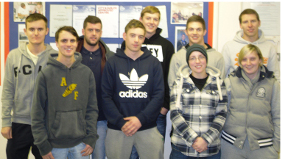 Students that completed NVQ level 3 in December 2011