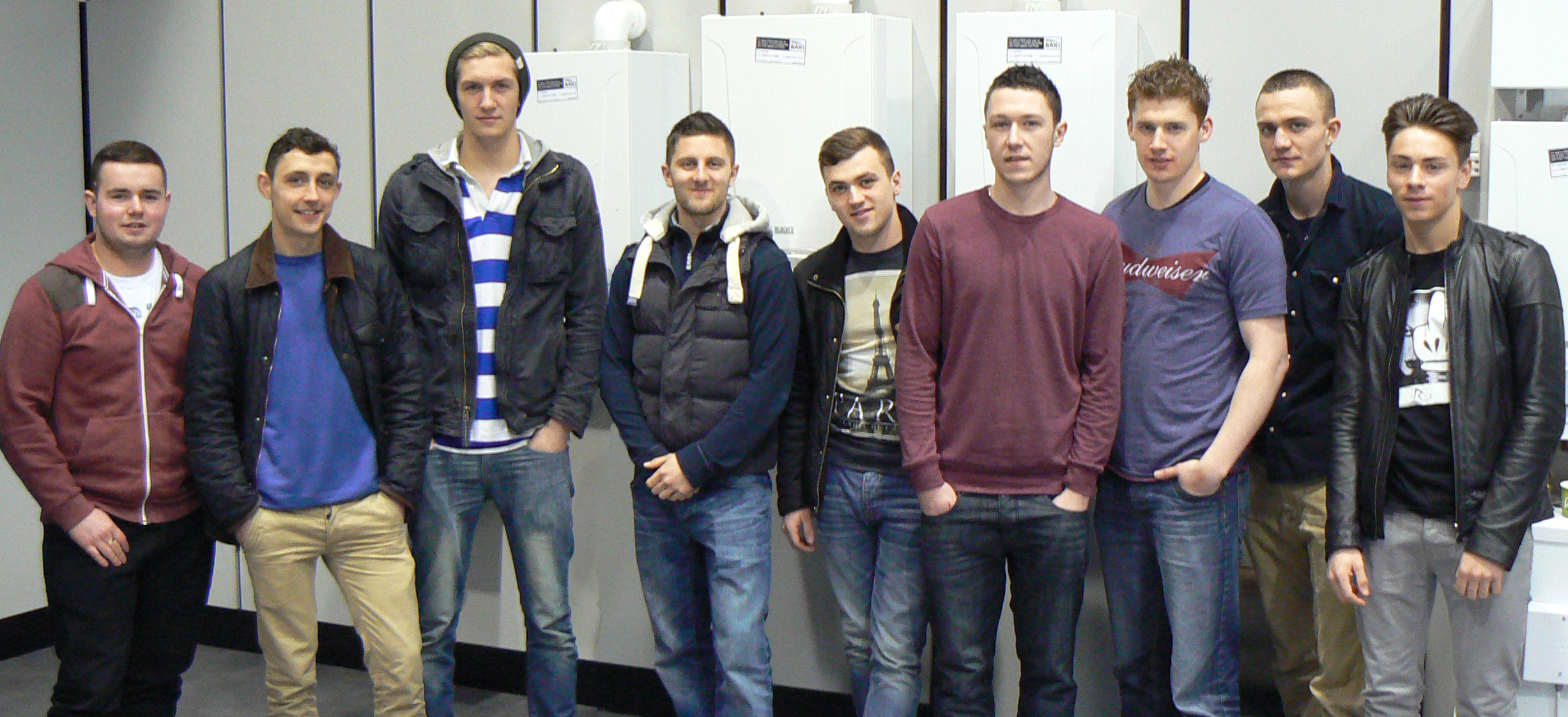 Students that completed NVQ level 3 in April 2013