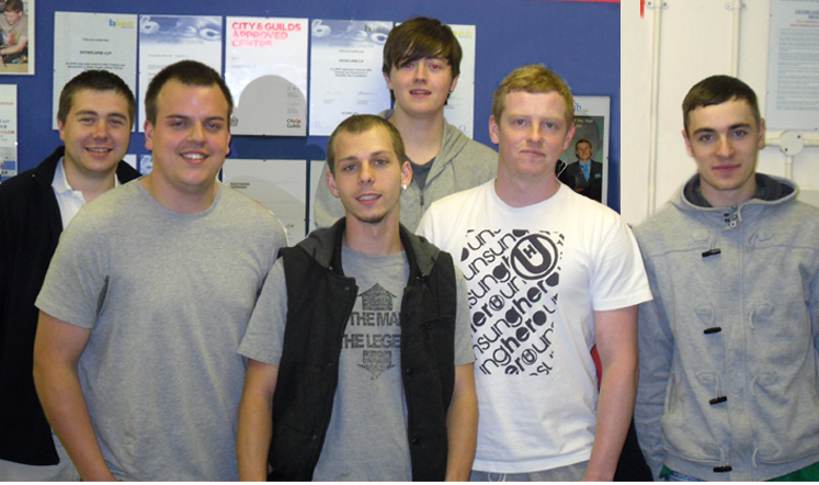 Students that completed NVQ level 3 in July 2011