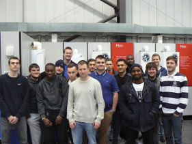 Students that completed NVQ level 3 in February 2015