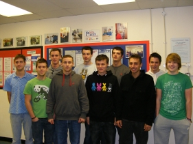 Students that completed NVQ level 3 in December 2009